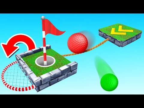 BEAT The Tightrope TROLL to WIN! (Golf It)