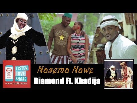 Nasema Nawee | Diamond Platnumz Ft. Khadija Kopa [Official Audio Song]
