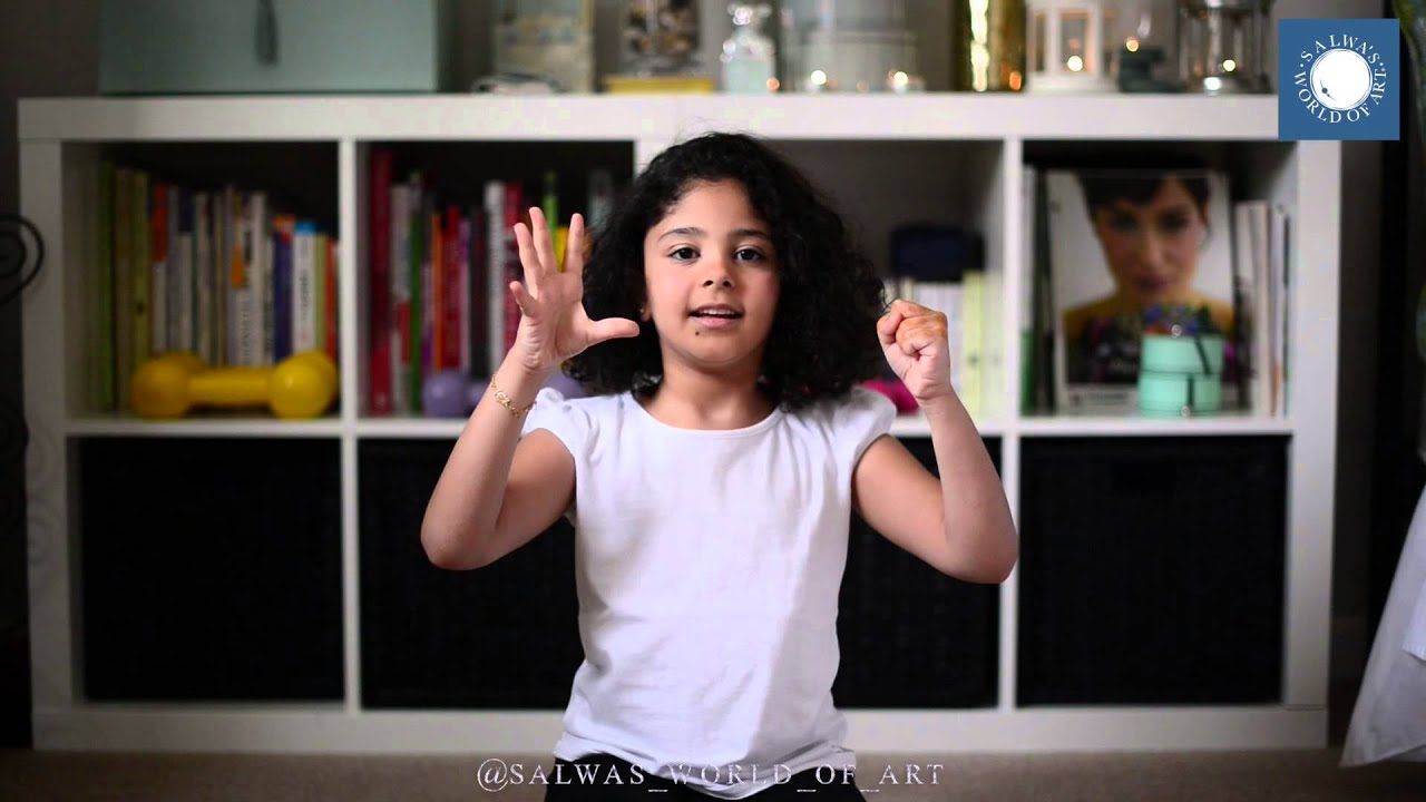 My Little Niece Playing Around - Chandelier by Sia - YouTube