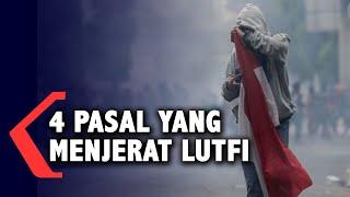 4 Pasal yang Jerat Luthfi, Pemuda Viral Pembawa Bendera Saat Demo di DPR