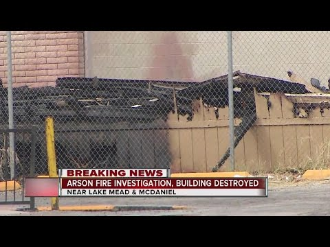 UPDATE: North Las Vegas Fire Could Have Been Set Intentionally
