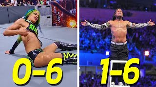 10 Worst WWE Wrestler Wrestlemania Records