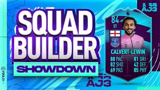 Fifa 21 Squad Builder Showdown!!! PLAYER OF THE MONTH CALVERT-LEWIN!!!