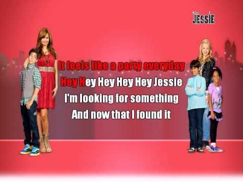 Debby Ryan - Hey Jessie! | Karaoke Sing-Along