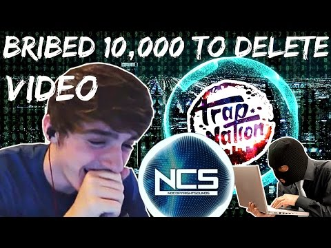Trap Nation Offers Me 10,000$ Bribe to Delete Video Exposing him.