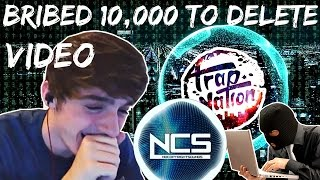 Trap Nation Offers Me 10,000$ Bribe to Delete Video Exposing him. thumbnail