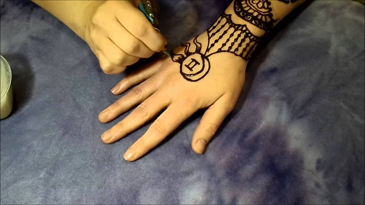 Henna Sun And Moon Sleeve Youtube