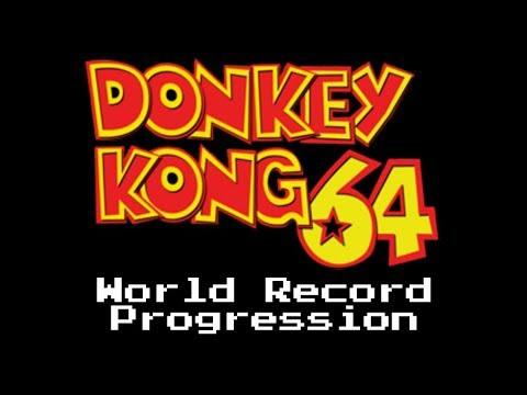 World Record Progression: Donkey Kong 64