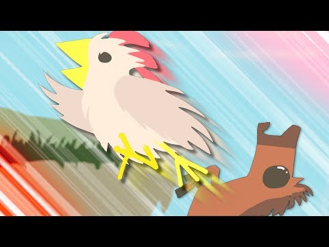 Ultimate Chicken Horse but some funny stuff happens