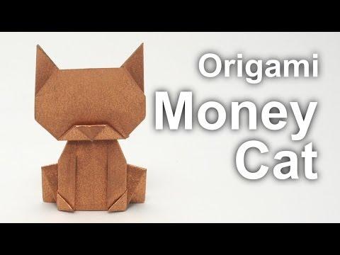 Origami Money Cat-Jo Nakashima