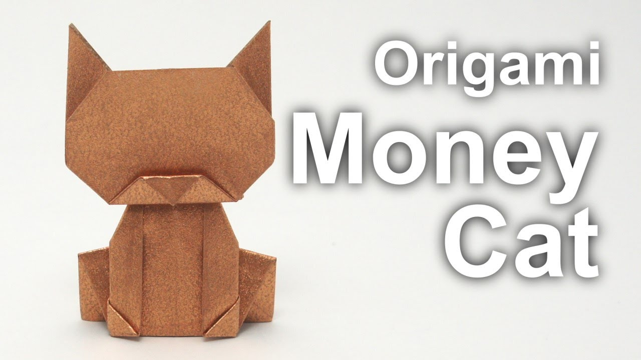 Origami Money Cat v2 (Jo Nakashima) - YouTube - photo#50