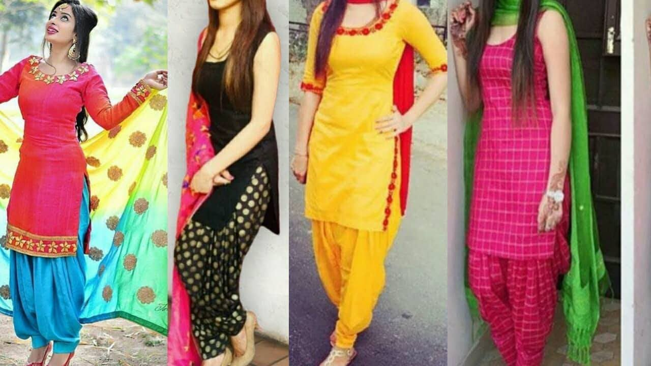 Patiala Trendy shalwar kameez designs