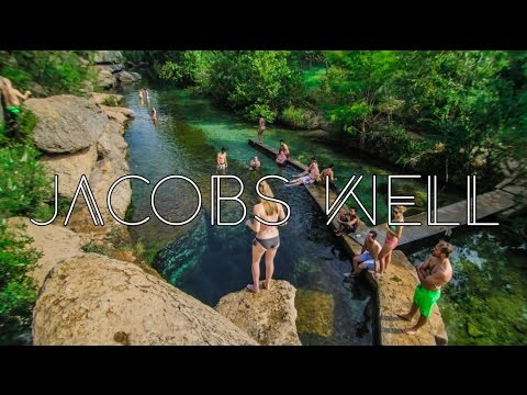 Jacob's Well Artesian Spring 2016 - Underwater Adventure