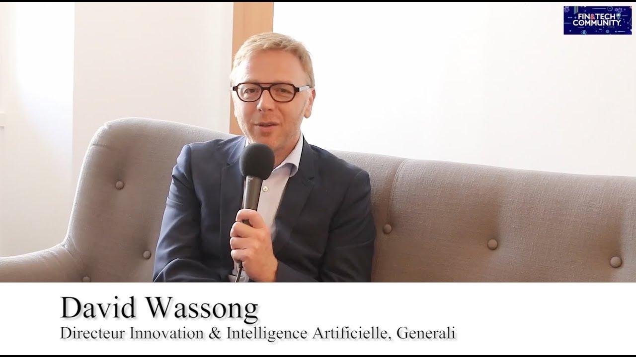 David Wassong, Directeur Innovation & Intelligence Artificielle, Generali