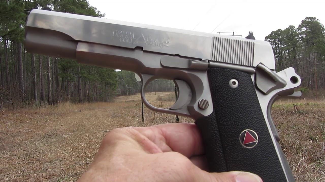 Glock 20/Colt Delta Elite and Hard Targets