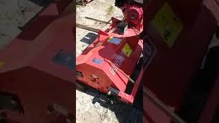 Як налаштувати і запустити косарку до квадроцикли АТ-120