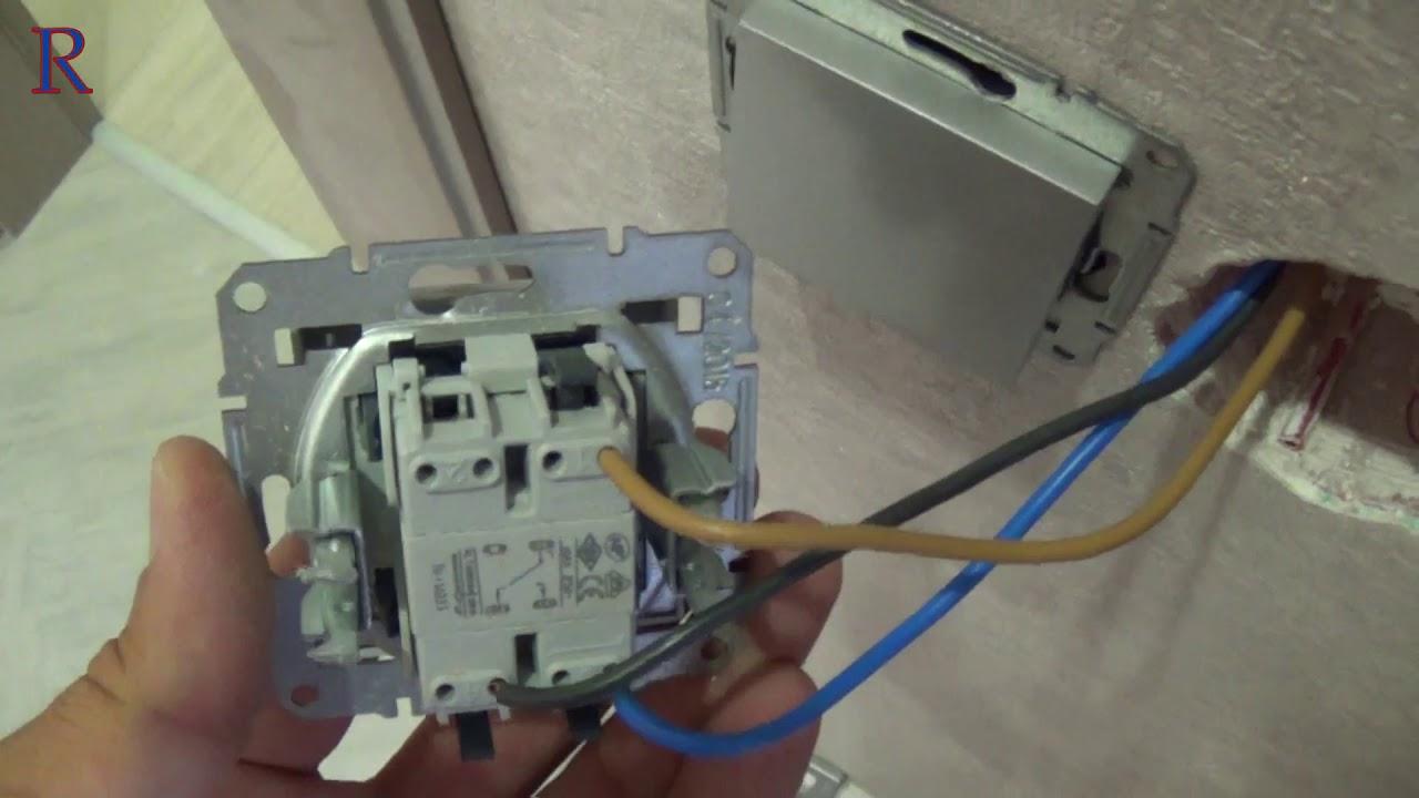 Schneider двухклавишный выключатель схема фото 410