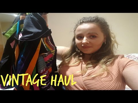 VINTAGE HAUL | AUGUST 2016 | NINE CROWS | TOLA VINTAGE | DUBLIN VINTAGE FACTORY | SOPHIA CAHILL
