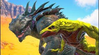 O Dia Do Julgamento Final Do King Titan, Juntamos Vários Dinossauros Ark Dino Evolved (PT_BR)