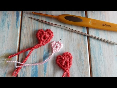 How to Crochet a Tiny Heart