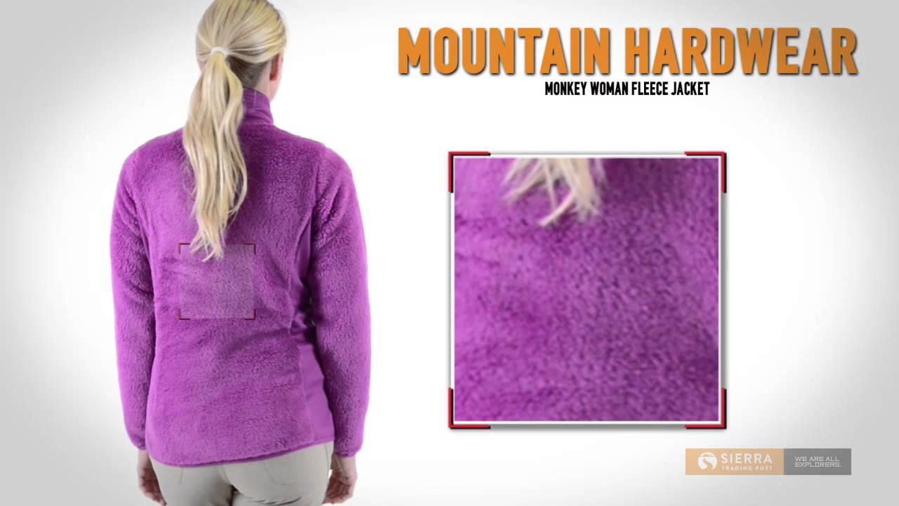 ce040742f016 Mountain Hardwear Monkey Woman Fleece Jacket (For Women) - YouTube