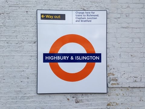 Full Journey on London Overground from Clapham Junction to Highbury & Islington (via Surrey Quays)