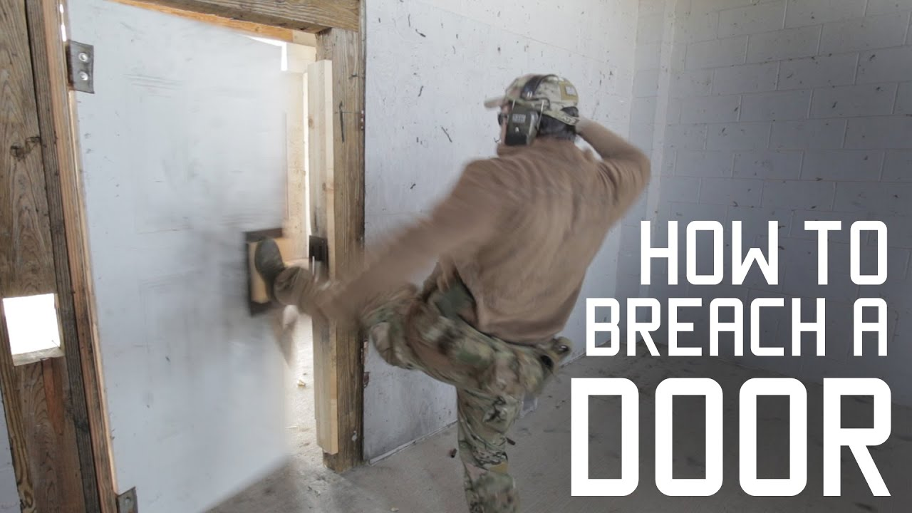 How to Properly Kick in a Door | Breaching Techniques | Tactical Rifleman - YouTube & How to Properly Kick in a Door | Breaching Techniques | Tactical ... pezcame.com