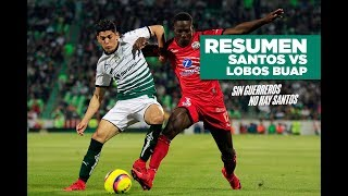 embeded bvideo Santos Vs Lobos BUAP: Resumen J1 Clausura 2018