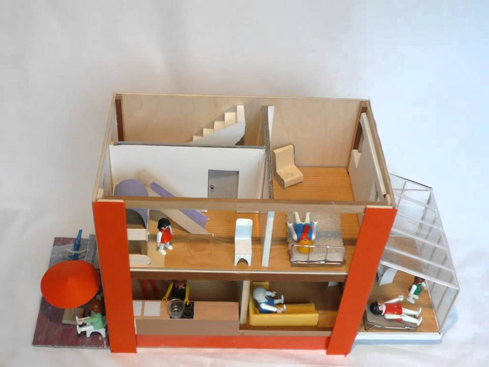 spielhaus f r playmobilfiguren youtube. Black Bedroom Furniture Sets. Home Design Ideas