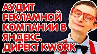 Аудит рекламной компании в Яндекс.Директ Kwork