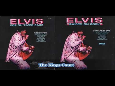 Elvis Presley - Raised On Rock - 1973 - Full Album