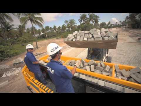 CSM P6000 PAVIMENTADORA DE PAVER