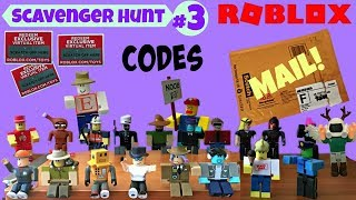 Roblox Scavenger Hunt #3 / My FULL SET Series 1 / Mail Opening / Surprise Blind Box