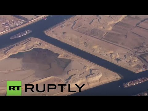 Egypt: President Sisi officially opens the New Suez Canal
