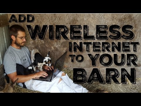 How to Add Wireless Internet to Your Barn, Garage, or Yard