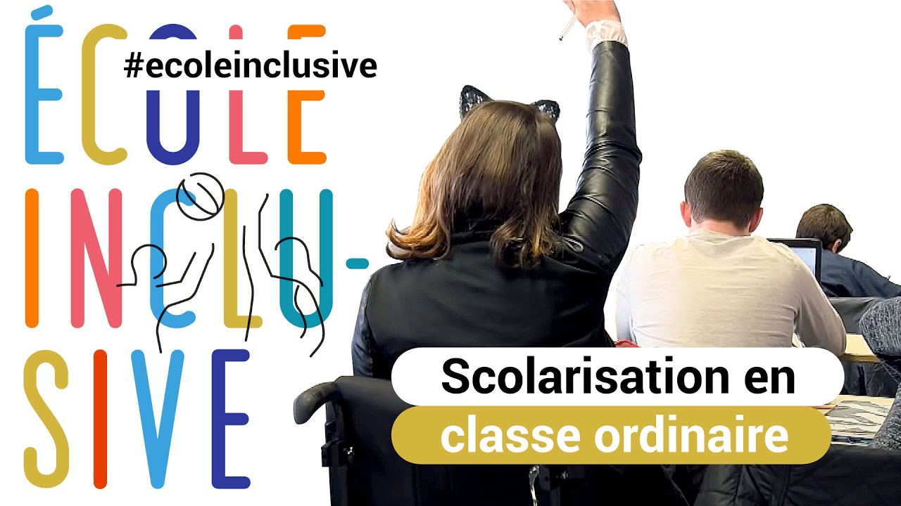 Handicap : scolarisation individuelle en classe ordinaire - YouTube