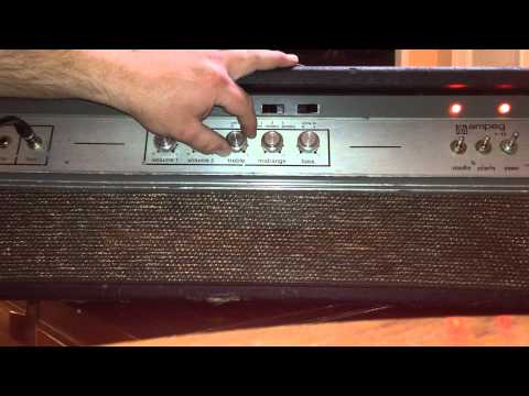 1974 Ampeg V-4B Quick and Dirty Test
