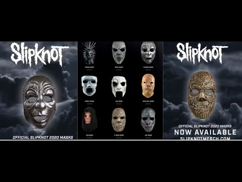 "Slipknot release ""We Are Not Your Kind"" era masks"