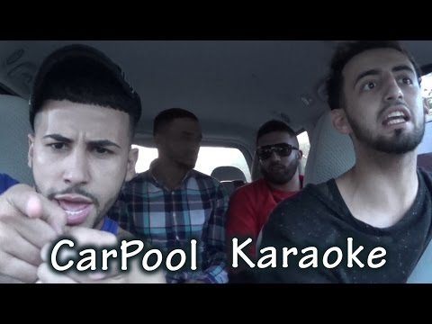 CARPOOL KARAOKE W/ MY FRIENDS