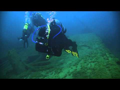 Scuba Diving in the Straits of Mackinac August 2013