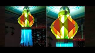 DIY paper Lantern making for Diwali & Christmas decoration/Shabrina's ideas
