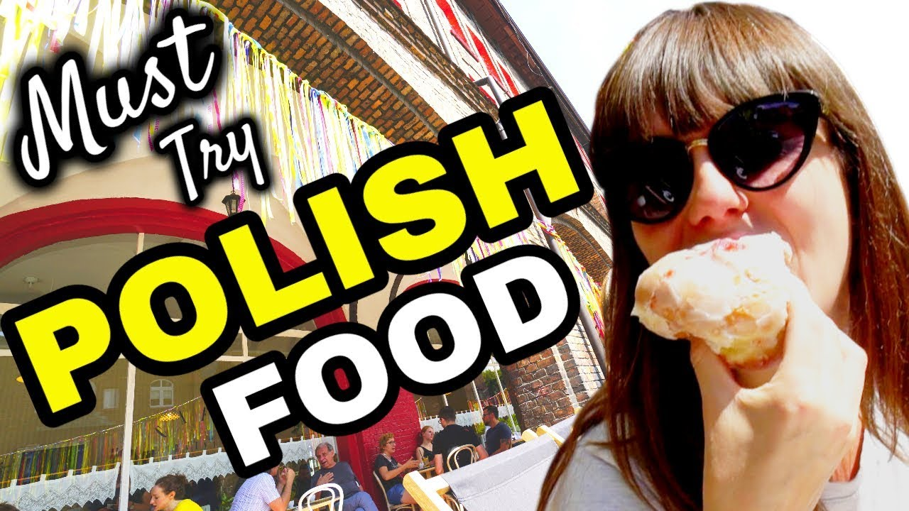 DELICIOUS Polish Street FOOD + Poland FOOD TOUR - Polska Travel Vlog 2019 - PL