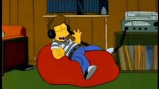 Homero ve la llegada a la Luna