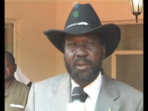 Salva Kiir Mayardit, President of Southern Sudan