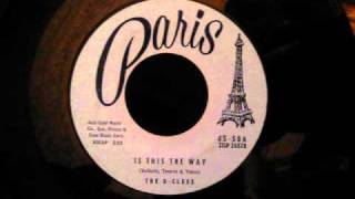 G-Clefs - Is This The Way - Boston Doo Wop