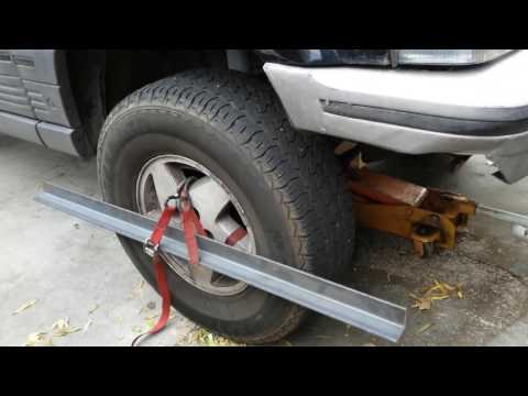 DIY JEEP toe in alignment HOW TO