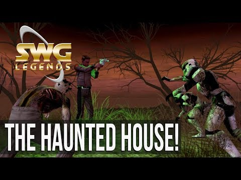 Star Wars Galaxies - Haunted House Event! (Sandbox MMORPG)