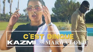 Kazmi & Marwa Loud - C'est dingue (clip officiel)