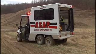 ASAP MedStat All-Terrain Rescue Ambulance - Off-Road