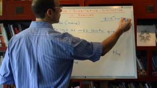 Lesson 315: Spanish superlatives Spanish comparatives Spanish diminutives